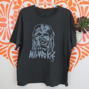 Milwookie Star Wars Gray T-Shirt XXL